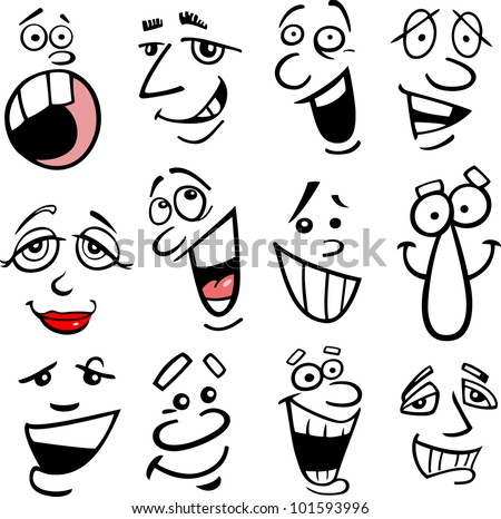 Cartoon Face Stock Images, Royalty-Free Images & Vectors ...