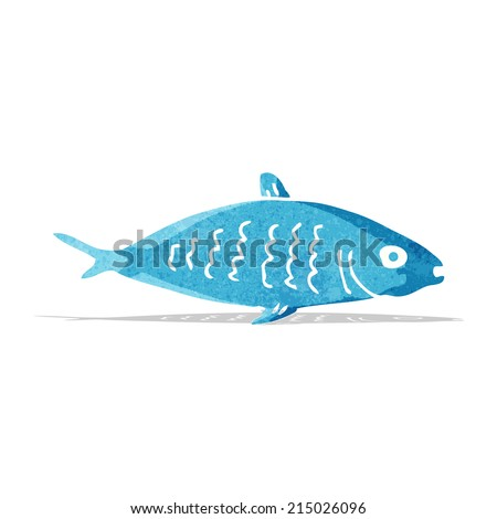 cartoon fish - stock vector