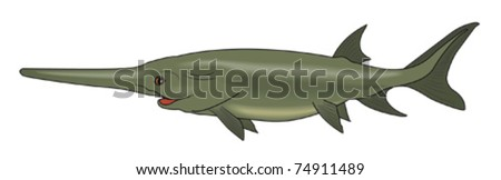 Cartoon fish Psefur