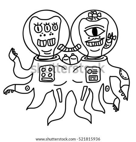 Alien Cartoon Stock Images, Royalty-Free Images & Vectors ...
