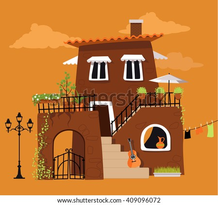 Spanish Revival Stock Images Royalty Free Images