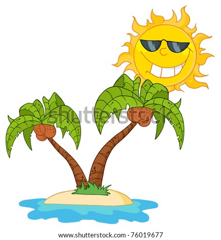 Cartoon Palm Tree Stock Images, Royalty-Free Images ...