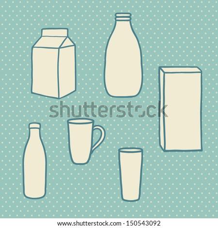 Patent US4691858  Milk carton blank and milk carton with