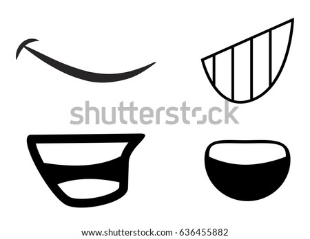 cartoon mouth vector symbol icon design stock photo photo vector rh shutterstock com cartoon mouth vector cartoon mouth drawing
