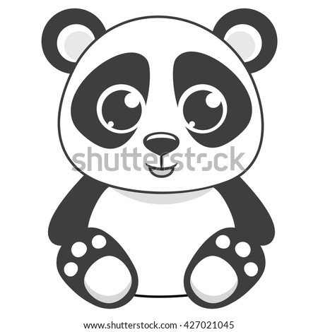 cartoon panda vector illustration stock vector hd royalty free rh shutterstock com panda vectoriel panda vector art