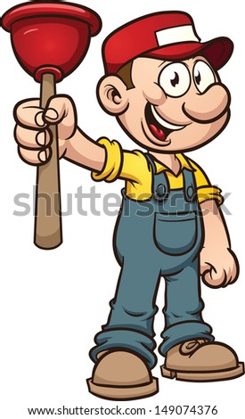 Plumber Cartoon Stock Images Royalty Free Images