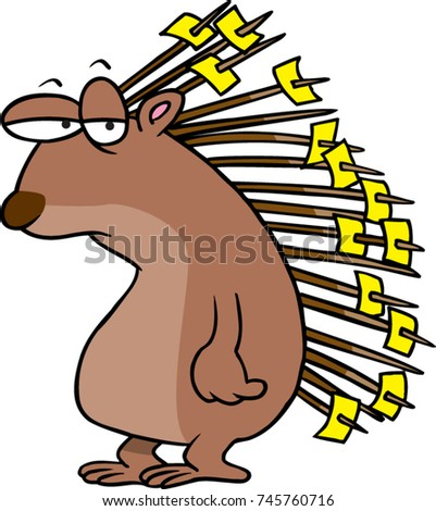 porcupine images cartoon porcupine stock images royalty free images vectors 4551