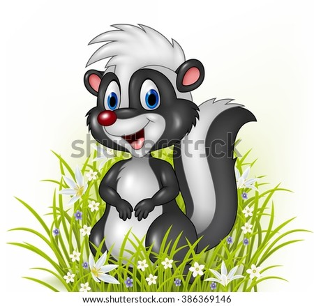 Cartoon Skunk Stock Images Royalty Free Images Amp Vectors
