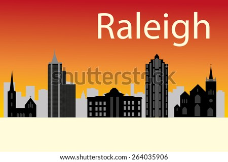 Raleigh Skyline Stock Photos, Images, & Pictures ...