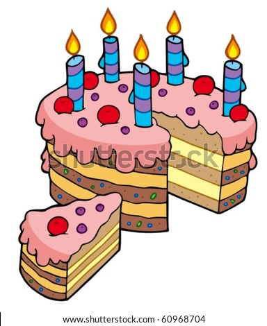 Cartoon Cake Stock Images Royalty Free Images Amp Vectors