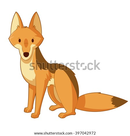 Cartoon wolf coloring pages wolf coloring pages free coloring pages - Jackal Stock Images Royalty Free Images Amp Vectors