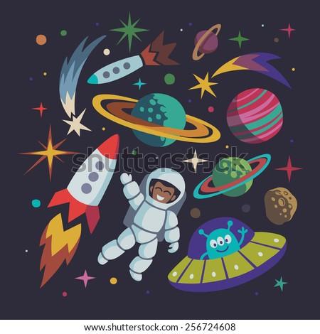 rocket space suit illustrations - photo #17