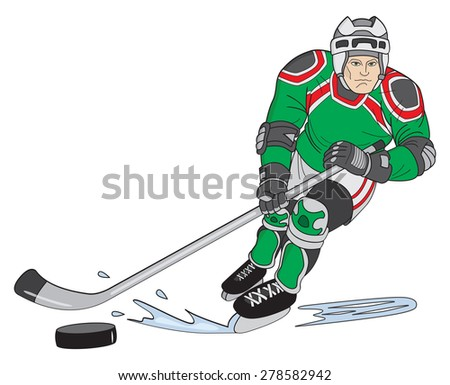 Hockey Player Cartoons and Comics  funny pictures from