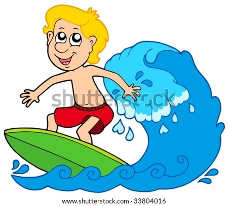 cartoon surfing stock photos  images    pictures surf clipart surfer clip art free