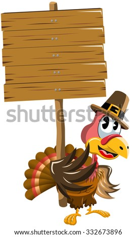 Turkey Holding Sign Stock Images RoyaltyFree Images