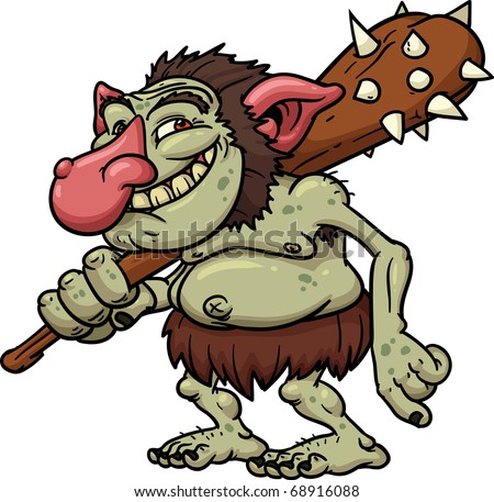 stock-vector-cartoon-troll-holding-a-clu