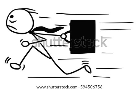 stickman running stock images royaltyfree images
