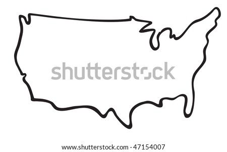 Image Result For Show Me The Map Of United States Of America