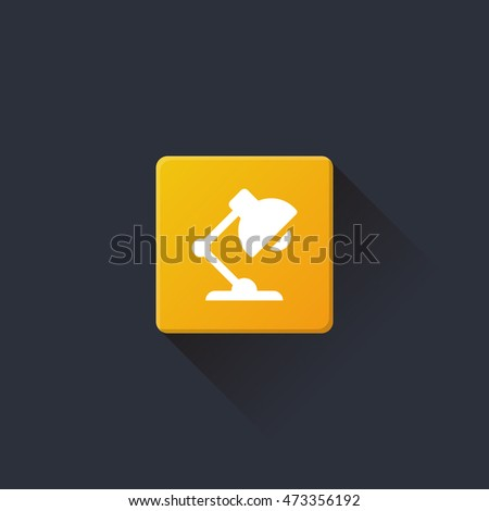 Case Study icon, button on yellow background