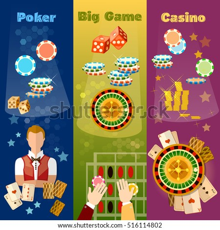 casino table games vector