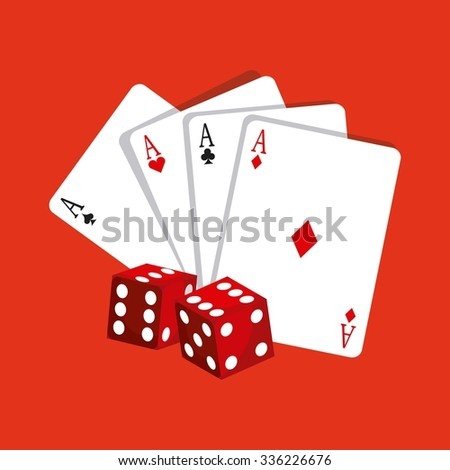 casino gambling  concept design, vector illustration eps10 graphic