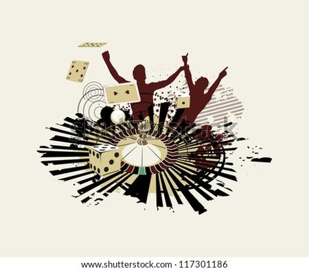 Casino Jackpot - stock vector