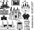 Castle Collection - stock photo