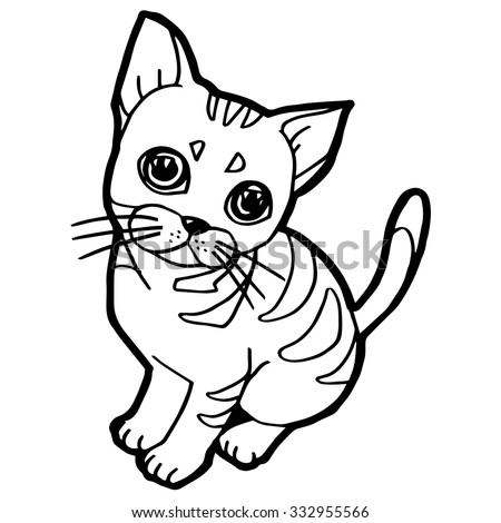 cat eye coloring pages - photo#9