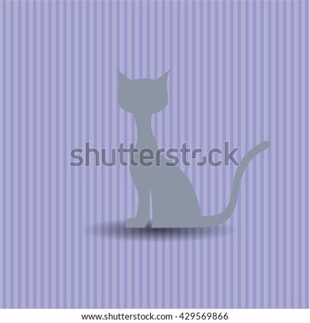 Cat icon, Cat icon vector, Cat icon symbol, Cat flat icon, Cat icon eps, Cat icon jpg, Cat icon app, Cat web icon, Cat concept icon, Cat website icon, Cat, Cat icon vector, Cat icon symbol - stock vector