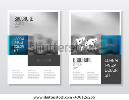 Catalogue cover design annual report vector stock vector for Design katalog