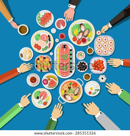 Buffet Dinner Stock Images Royalty Free Images Amp Vectors