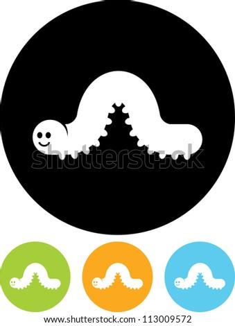 Caterpillar Stock Photos, Royalty-Free Images & Vectors ... Гусеница Вектор