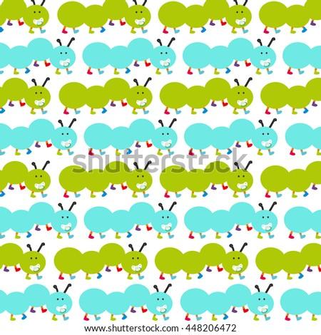 Caterpillar Wallpaper Stock Vector HD Royalty Free 448206472