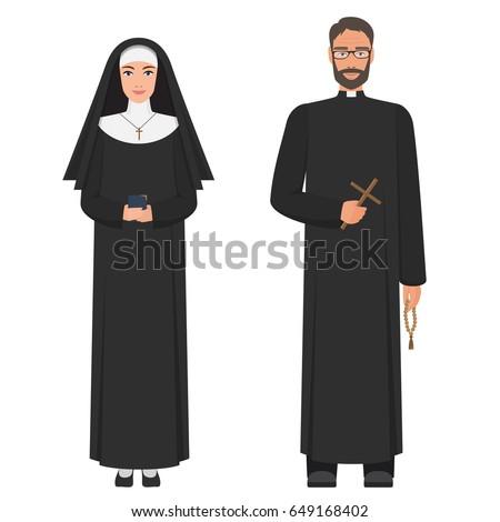 Catholic nuns and priest 4