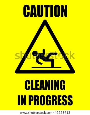 Caution cleaning VECTOR