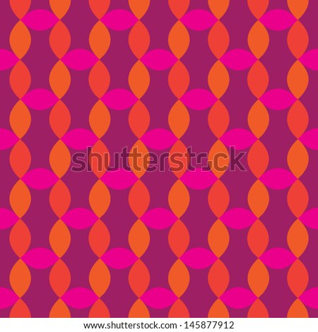 Cayenne and Pink Pattern - stock vector