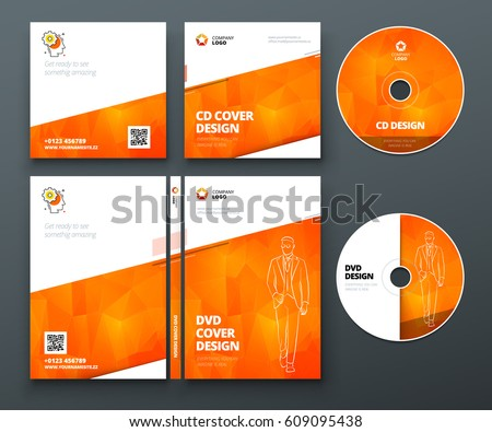 cd case design template