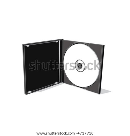 cd (vector) - stock vector