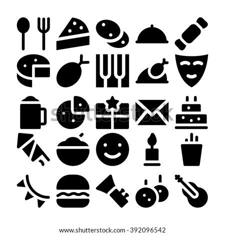 Celebration and Party Vector Icons 3