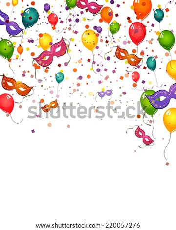 Celebration card - vector