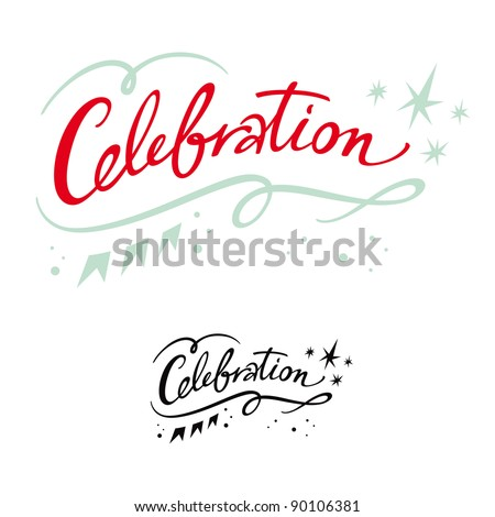 Celebration holiday event party birthday banner stars - stock vector