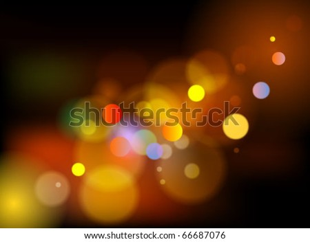 celebration light background - stock vector