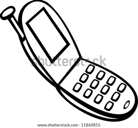 Extraordinary cell phone vector pictures