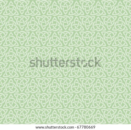 celtic historic Symbol ornament background Seamless - stock vector