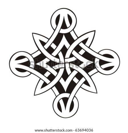 Celtic vector ornament - stock vector