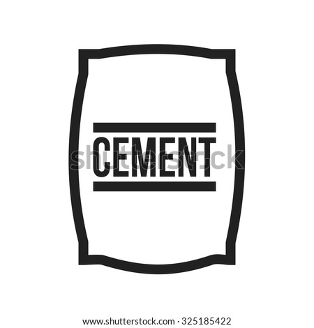Cement bag stock images royalty free images vectors for White cement art