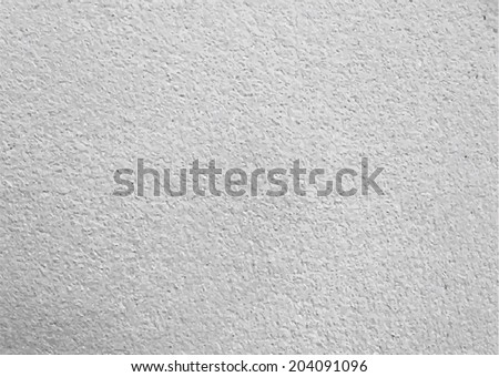 Cement wall texture  background - stock vector