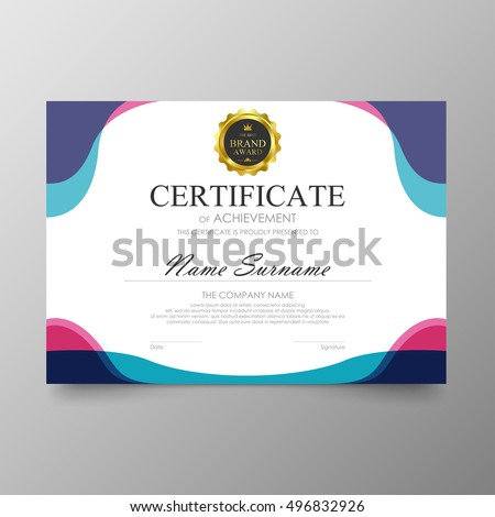 diploma design stock images royalty images vectors  certificate template awards diploma background vector modern value design and luxurious elegant illustration layout cover