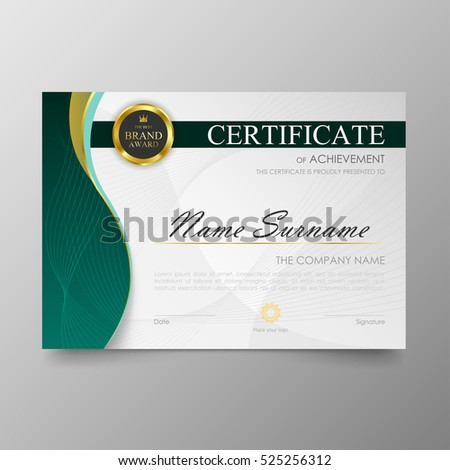 Modern certificate template stock images royalty free images certificate template awards diploma background vector modern value design and luxurious elegantlustration layout cover yelopaper Image collections