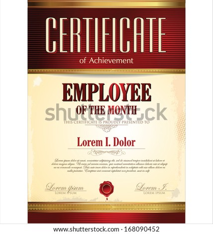 free employee of the month template